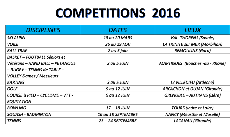 TABLEAU-COMPETITIONS-2016